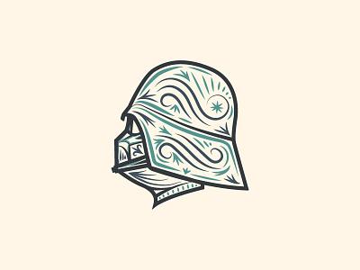 Darth Vader darth vader helmet vector illustration star wars darth vader