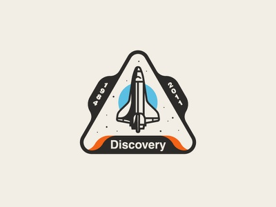 Space Shuttle Discovery Patch patch badge nasa discovery shuttle space