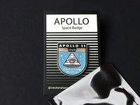 Apollo Badge Lapel Pin