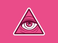 All Seeing Dribbble Eye