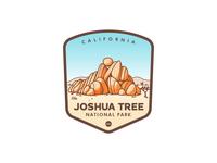Joshua Tree National Park Badge