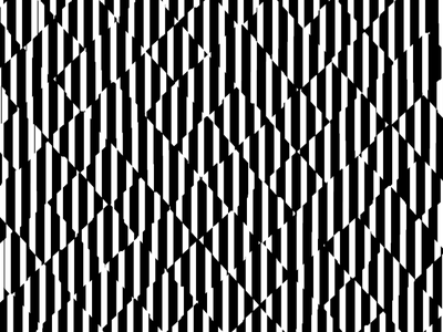 The Curious Case of Checkered Straights black and white visual art optical illusion art