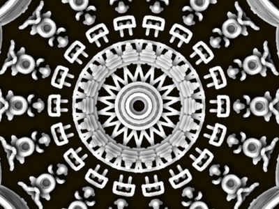 Cave Men Mandala monochrome black and white digital illustration illustrations illustration mandala
