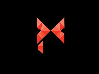 Diamond + Butterfly Logo Concept india logo designer diamond red butterfly brand identity logo design branding logo