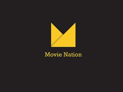 M - Minimal Classy Logo movie movie logo ribbon alphabets m ribbon logo minimal logo minimal india logo design logo