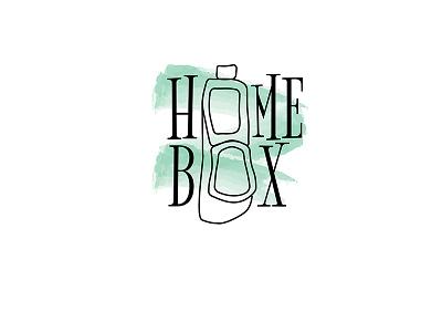 Homebox - Indian Lunch Box/ Tiffin Box Logo Design tiffin box lunch indian logo tiffinbox luchbox india
