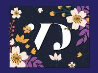 Wedding Branding Monogram V&D v2