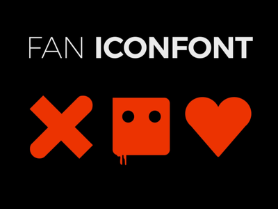 Love, Death + Robots Icons & Font animation redesign concept netflix branding love death and robots fanart ux ui character after effects design font collection icon ldr death  robots love