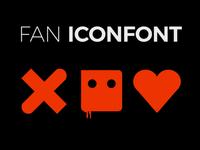 Love, Death + Robots Icons & Font