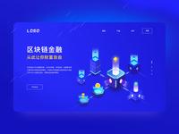 Blockchain Technology Webpage technology produce 设计 web page currency blockchain ui 视觉 空间