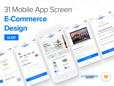 E-Commerce Mobile App Ui Kit
