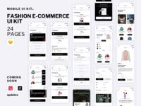 Fashion E-Commerce UI Kit