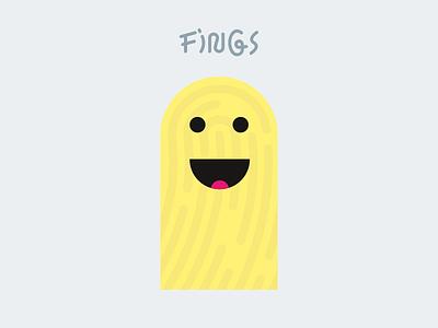 Fings wip illustrator finger figure character