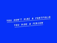 Hire a person