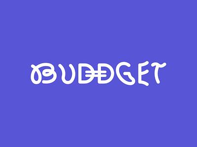 Buddget fintech ai vector webabb app logo