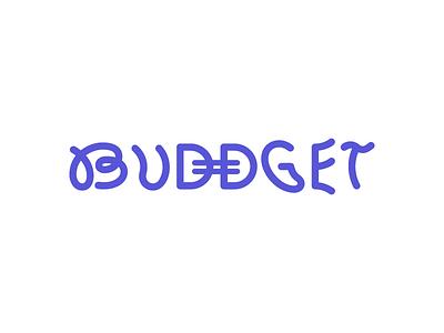 Buddget fintech wip ai vector webapp app logo