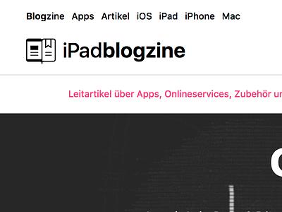 iPadblogzine System Font Logo navigation sfui san francisco system font ui