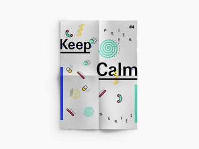 No. 4 poster series keep calm