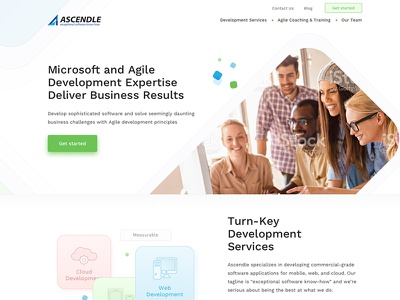 Website design for Professional Services firm design web ux user ui interface clean