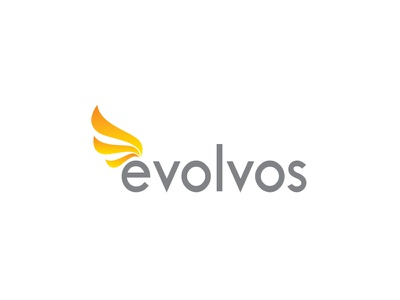 Logo - Evolvos orange yellow logo