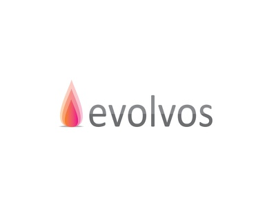 Logo - Evolvos orange pink logo