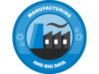Manufacturing Industry Badge