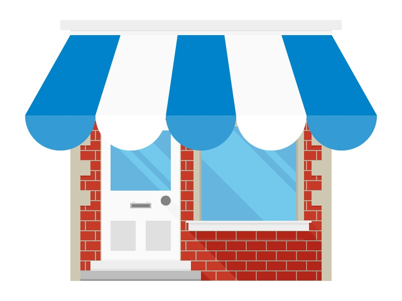 Small Business Icon By Billy Kulpa Dribbble Dribbble
