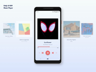 Music Player | Daily UI 009