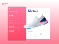 Receipt | Daily UI 017