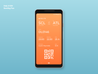 Boarding Pass | Daily UI 024