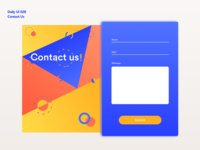 Contact Us | Daily UI 028