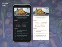 Recipe   Daily UI 040