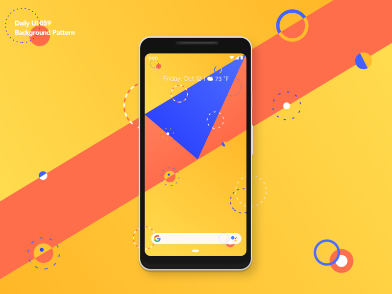 Background Pattern | Daily UI 059 background pattern pattern background mobile sketch android app design ui ux dailyui