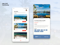 Daily UI 067 | Hotel Booking