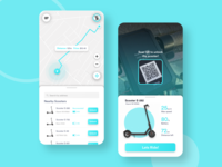 Scooter App Concept