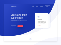 QuickLearn Landing Page