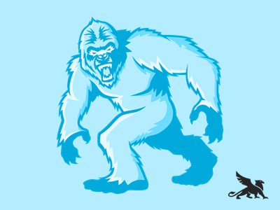 Yeti Logo by Griff Designs on Dribbble