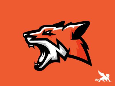 Fox Logo Powerpoint Orange Vector Practice Design