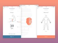 Health iOS mobile app