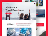 Travel Website Landing