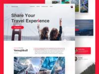 Travel Website Landing