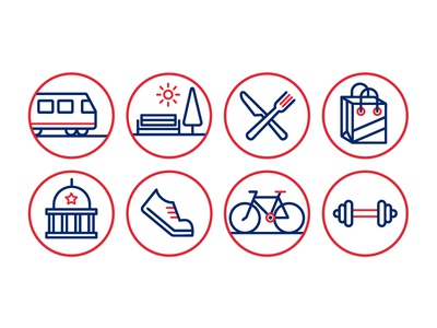 Station Row Icons