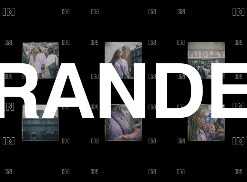 Branded Content typography art direction animation