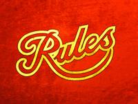 Rules, Standard