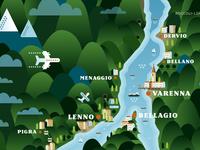 Lago Di Como, Lenno, Bellagio & Varenna