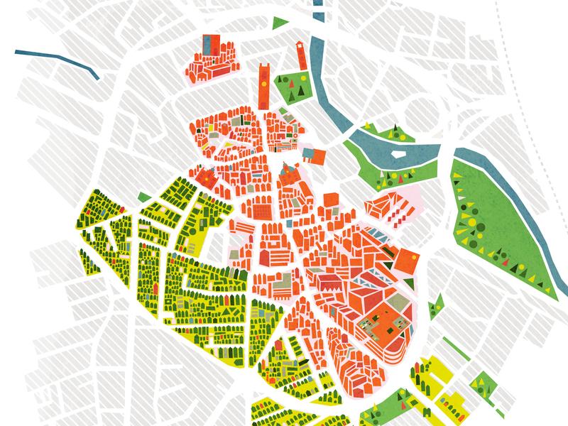 DBY Non-map v1 art direction illustration