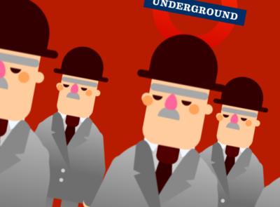 Going underground.