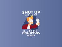 4 Dribbble Invites!