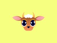 Stargazed Goat