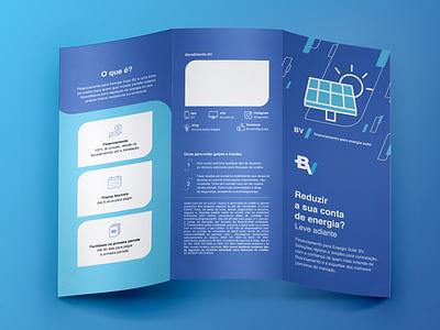 Solar energy Folder finance design folder design folder solar energy solar panel solar